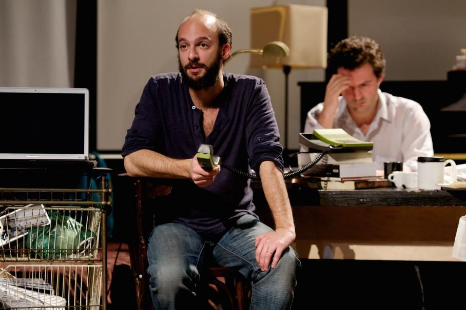 En route-Kaddish - David Geselson, Elios Noe¦êl' (c) Charlotte Corman